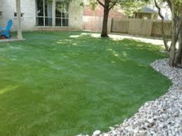 Artificial turf backyard Blade 90 Backyard With Artificial Grass Highquality Artificial Grass From Leading Manufacturer In Texas