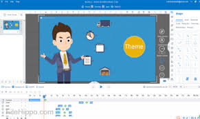 animiz is a simple yet powerful video presentation creation app that can be used to make ening animated videos for free
