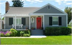 white front door blue house. Blue House Red Door New Ideas Gray Front White