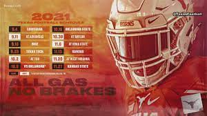 UT football 2021 schedule: Here's who ...