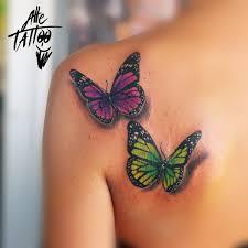 Alle Tattoo On Twitter Dedicato Ai Figli Farfalle Butterflies