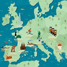 Animated Travel Map Culture Trip X Amex Parkinparkin