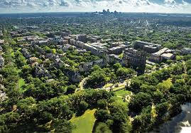 undergraduate admission tulane university campus aerial photo
