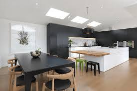 Modern black furniture Home Blackkitchenideasfreshome15 Deavitanet 31 Black Kitchen Ideas For The Bold Modern Home Freshomecom