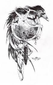 Crow Dream Catcher New Nápady Na Tetování Tetování Pro Muže A