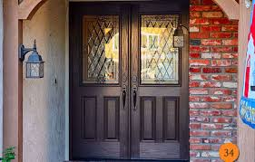 front door trim kitdoor  Amazing Exterior Door Glass Black Front Doors Attractive