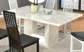 timeless design of a marble top dining table interior and faux for black marble top round
