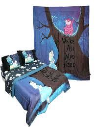 alice in wonderland bed set in wonderland bedding sets alice in wonderland queen bed set