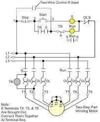 controlling motor starting wiki odesie by tech transfer figure 13 three step part winding starter