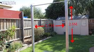 fitnessfaqs build an outdoor pullup bar