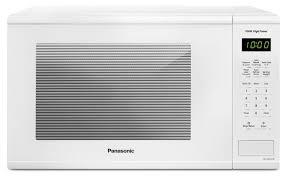 Panasonic Kitchen Appliances Panasonic 13 Cu Ft Countertop Microwave Nnsg656w The Brick