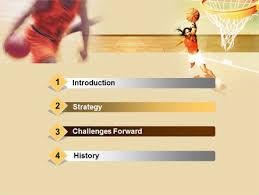 Basketball Powerpoint Template Free Basketball Players Free Powerpoint Template Backgrounds 00136