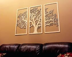 tree of life 3 panel tree wood wall art wall hanging like this item diy wood on 3 panel wall art diy with tree of life 3 panel tree wood wall art wall hanging like this item