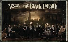 my chemical romance wallpaper enled the black parade
