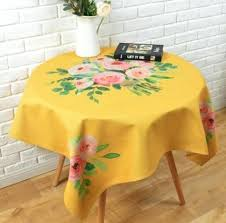 tablecloths for 60 round table rose flower tablecloth for inch round table plant decorative table cover