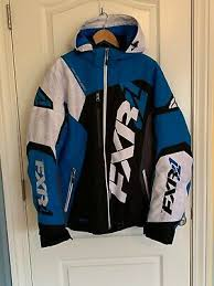 Mens Fxr Racing Revo X Insulated Snowmobile Jacket Size Med