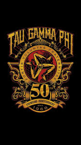 Triskelion Tau Gamma Wallpaper Gold 50 Android Iphone Ctto