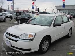 2005 Chevrolet Malibu LS V6 Sedan in White - 162068 | NYSportsCars ...