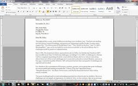 Block Format Letter - YouTube