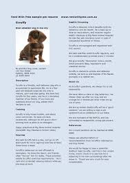 Dog Trainer Resume Dog Trainer Resume Softsales Us Cover Letter Free Templates Invoice