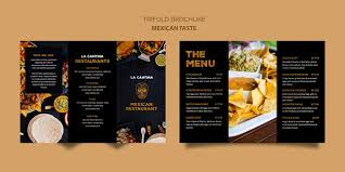 Tri Fold Menu Template Trifold Brochure Vectors Photos And Psd Files Free Download