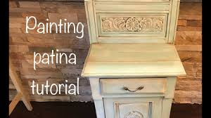 how to distress paint patina furniture with chalk paint and dark wax