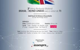 assespro federation of associations of brazilian information technology companies uk department of international trade and midc ministry of industry