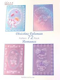 pattern pack 72 romance by christine coleman