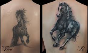Tetování Kůň Tetování Tattoo