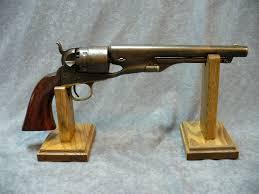 Handgun Display Stand Hardwood Revolver Pistol Sword Display Stands 36