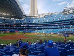 Rogers Skydome Seating Chart Rogers Centre Section 128r Home Of Toronto Blue Jays