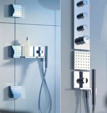 This designer-friendly shower kit is for people who really like squares.  The simple, elegant 5x5 modules can be arranged freely and serve several  functions, ...