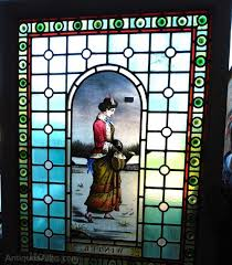 victorian stained glass panel doors