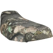 suzuki 450 500 700 750 king quad staple on camo seat cover