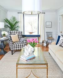 modern traditional living rooms.  Rooms Modern Traditional Living Room Navy Desk Buffalo Plaid Armchair Throughout Modern Traditional Living Rooms D