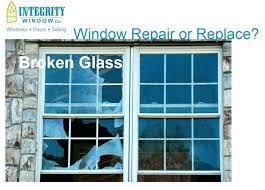 replace broken window glass residential double pane