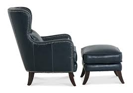 Leather Accent Chair With Ottoman Lacks Hunlty Leather Accent Chair Ottoman