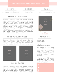 Media Kit Template Press Kit Digital Media Kit Business