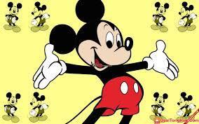 Bộ ảnh hoạt hình đáng yêu của chuột Mickey