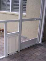 dog doors and pet doors for porch installations