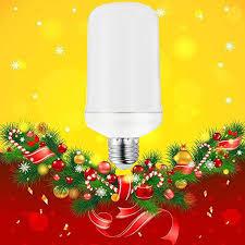 How To Check Christmas Tree Light Bulbs Auye Christmas Led Flame Effect Light Bulb True Fire Effect