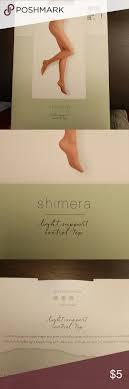 Shimera Control Top Panty Hose Nude Nwt Nude Colored Light