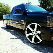 Texas Edition Silverado sitting on 26in Irocs | Sick Rides ...
