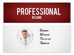 Cv Powerpoint Template Download Powerpoint Resume Template Resume Templates  And Resume Builder Printable
