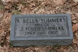 R. Belle Summers (1868-1907) - Find A Grave Memorial