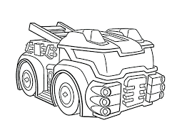 Transformer Coloring Pages Megatron Chase Rc Bumblebee Page Free