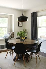 modern round dining table extendable neubertweb com home design for plans 6