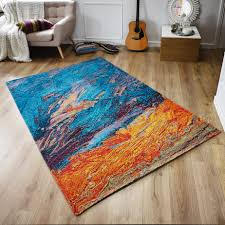turquoise and orange area rug artistic rugs with abstract pattern in color amazing aqua gallery of grey canada red burnt carpet modern gray round blue