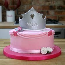 Simple Princess Birthday Cake Tutorial Pretty Pink Cake Ideas
