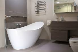 Small Picture Designer bathroom tile and furniture displays at Room H2o in